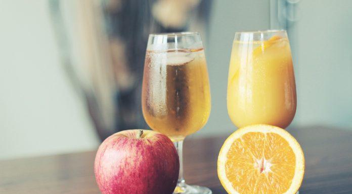 Sok jabłko pomarańcza